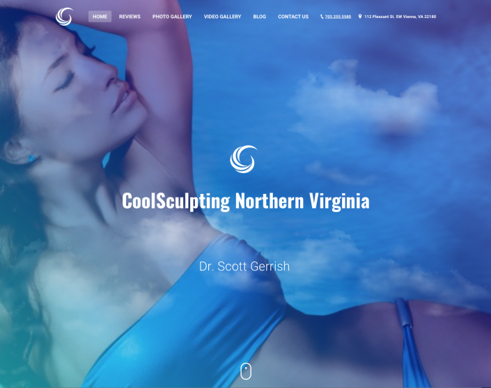 Dr. Gerrish CoolSculpting Website