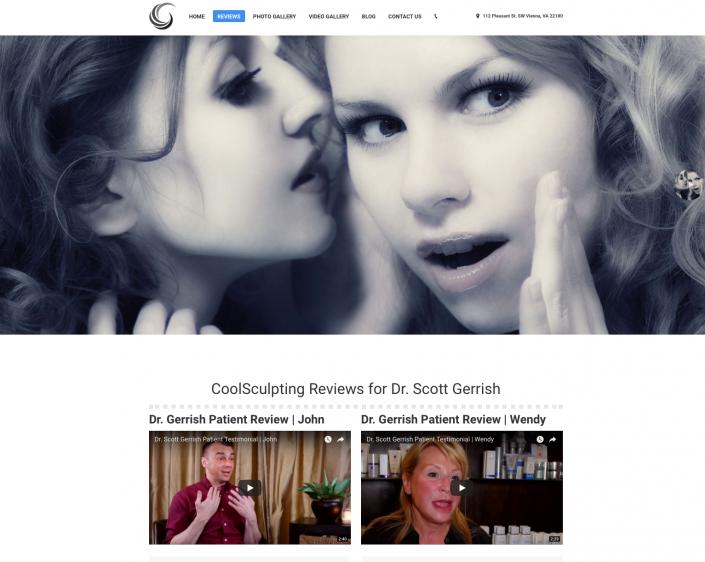 Dr. Gerrish CoolSculpting Website Reviews