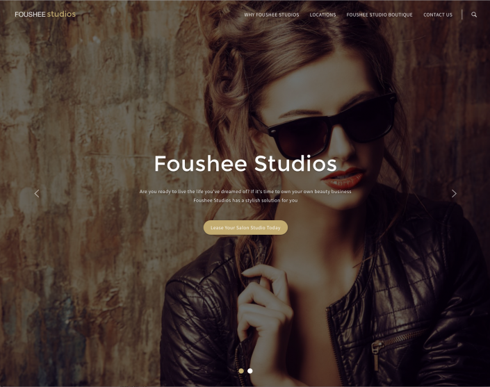 Foushee Studios website 1