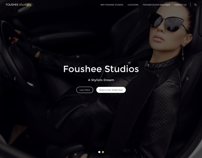 Foushee Studios website 2